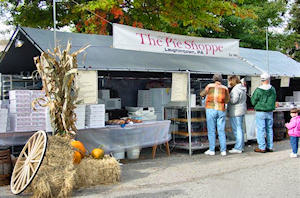 Pie Shoppe Booth